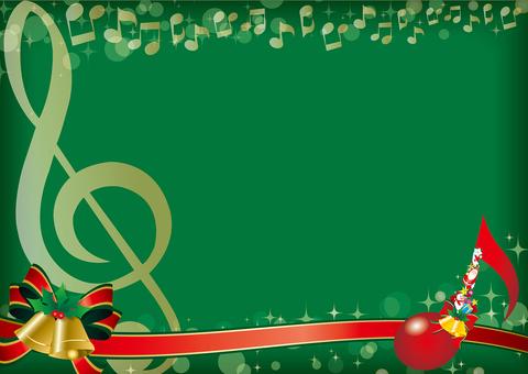 Frame for Christmas concert