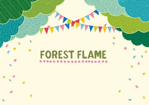森のフレーム(2)