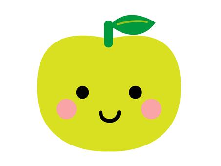 Green apple-chan