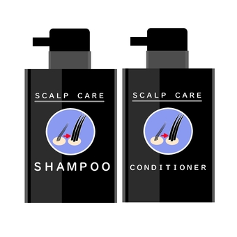 Scalp shampoo and conditioner