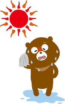 Kumai hot weather