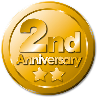 2nd anniversary medal