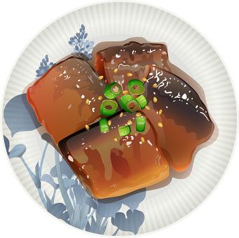 Sweet-baked of autumn sweetfish