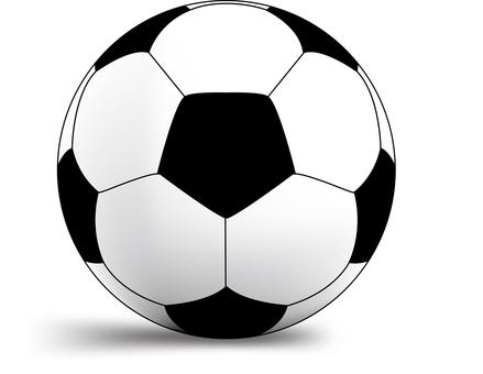 Free illustration material CS5 preserved soccer ball