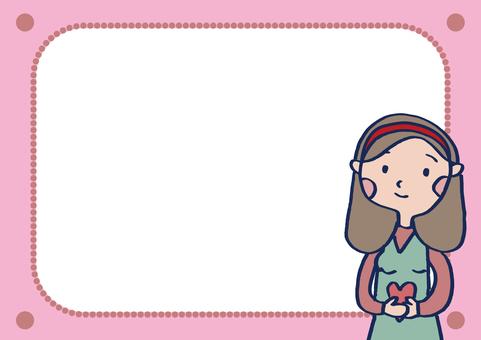 Girl's Frame 2