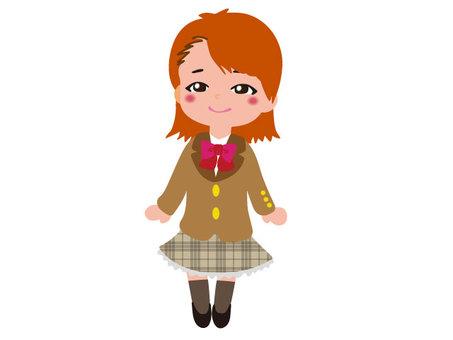 Student series _ girl 06