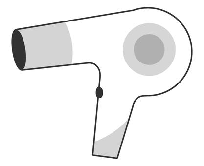 Hair dryer (simple)