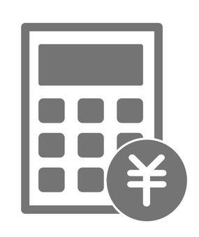 Calculator gray