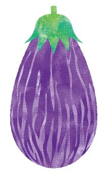 Zebra eggplant