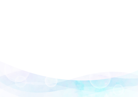 Background material Wave Ice Blue 1
