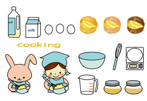 Cooking (cream puff)
