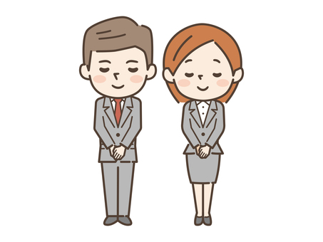 Bow Male Female suits