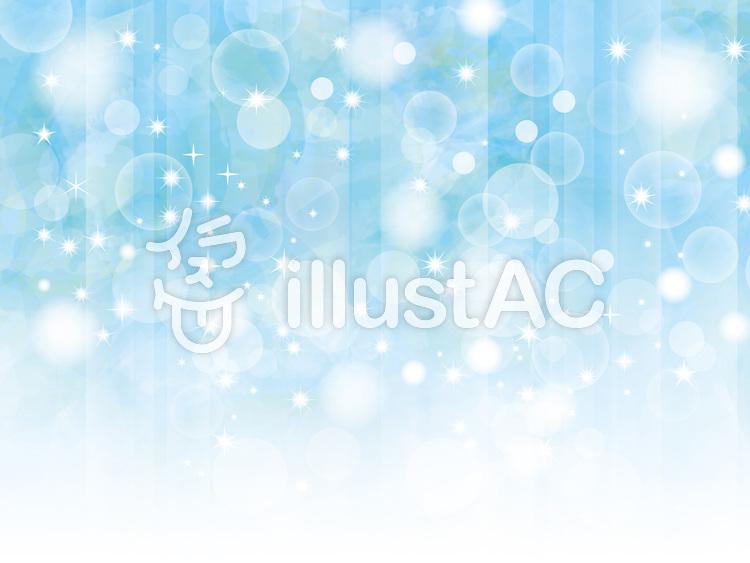 青空キラキラフレーム枠背景水彩照明光演出のイラスト
