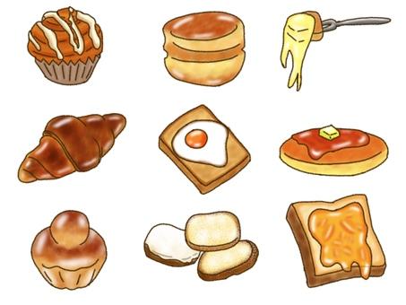 Sweet bread set