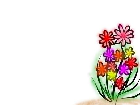길가에 피는 꽃