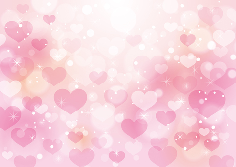 Heart and sparkling background 10
