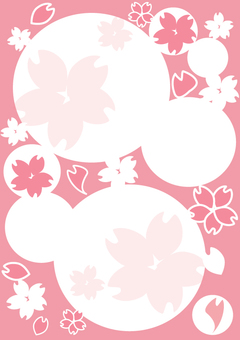 벚꽃의 빈칸 3 A4