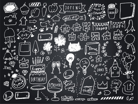 009 Blackboard Art Frame Callout
