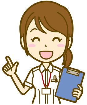 Female (nurse): A_ point 04 BS