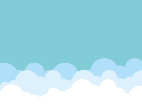 天空背景藍色簡單