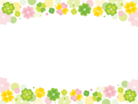 Clover frame ~ colorful ~