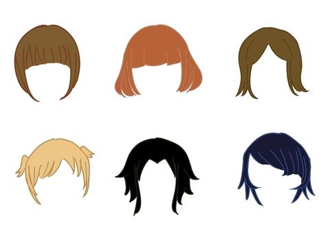 Short hair hairstyle
