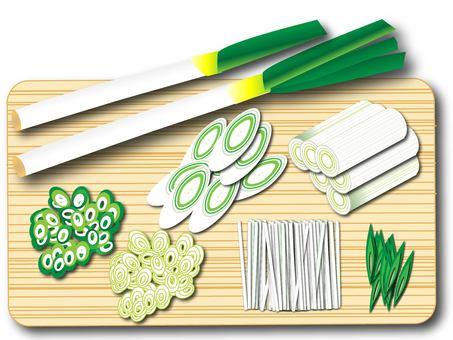 Green onion (cut)