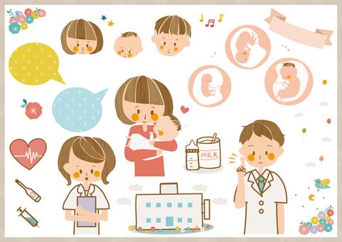 Obstetrics and gynecology Pediatrics