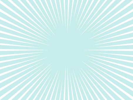 White simple concentration line PNG transmission