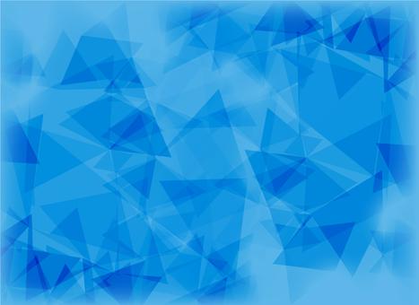 Geometric pattern blue blur