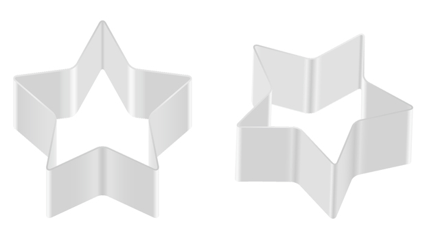Cookie type - Star shape