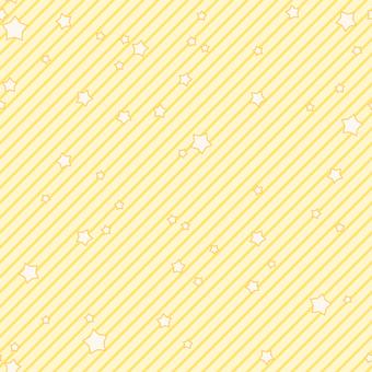 背景-星とストライプ・オレンジ