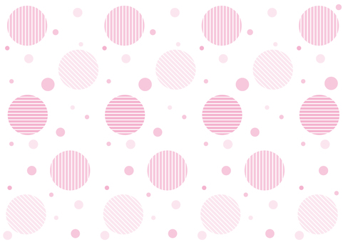 Wallpaper - hatched polka dot - pink