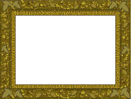 Luxurious gold frame