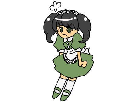 Green maid's 03