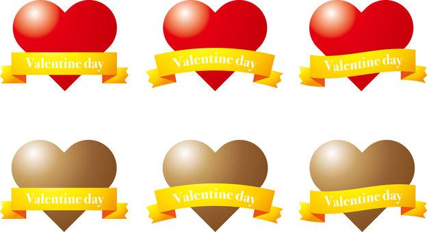 Valentine, chocolate, ribbon 4