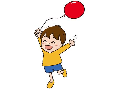 我會運行一個氣球