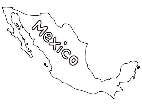 Mexico terrain