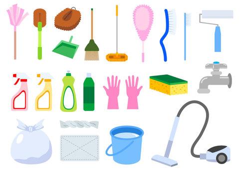 掃除道具セット