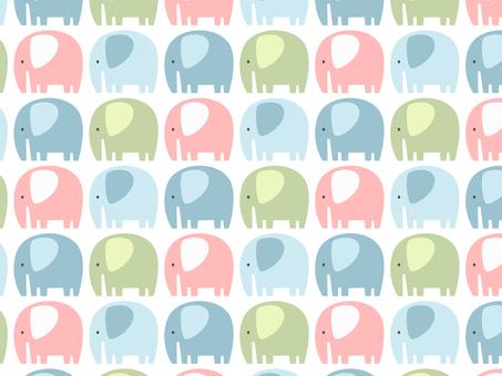코끼리 패턴