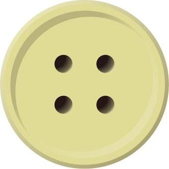 Four-hole button (ivory)