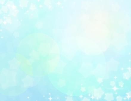 꿈 귀여운 _ 하늘색 _ 별