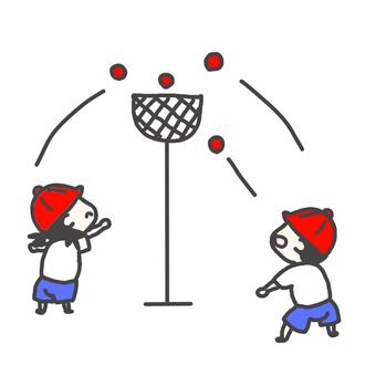 Ball entrance red set