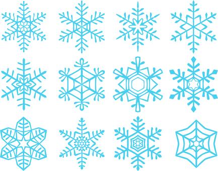 Snow crystal 1