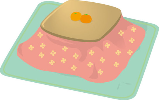 Kotatsu and oranges