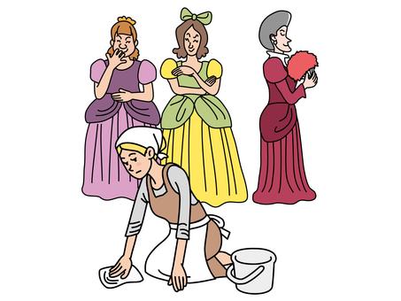 Cinderella (Cinderella and stepmothers)