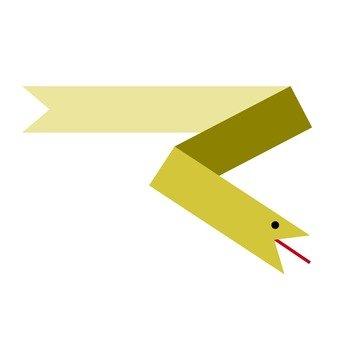 Linear snake (yellow)