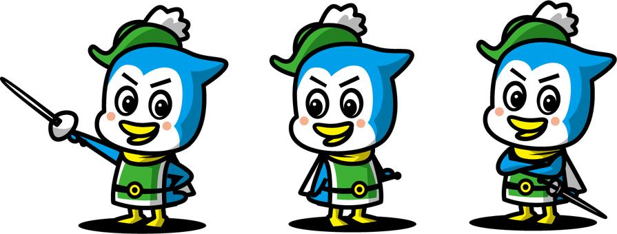 Knight penguin