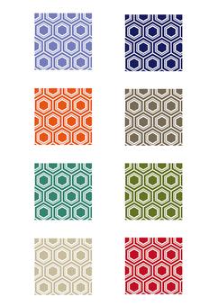 Hexstarch pattern pattern set