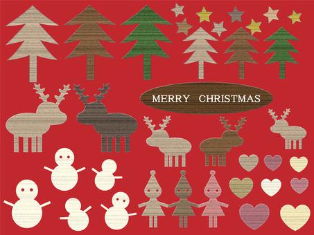 Woodgraining Christmas material set
